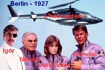 Igor, Nicolaï, Troudair et Gondac, amis à Berlin avant les problêmes que l'on sait